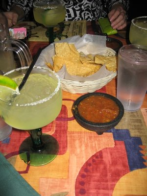 margaritas and Salsa Borracha