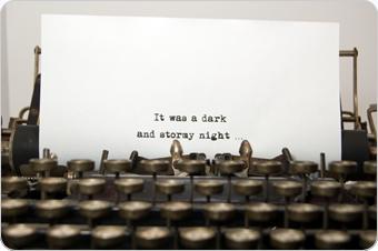 script-on-typwriter